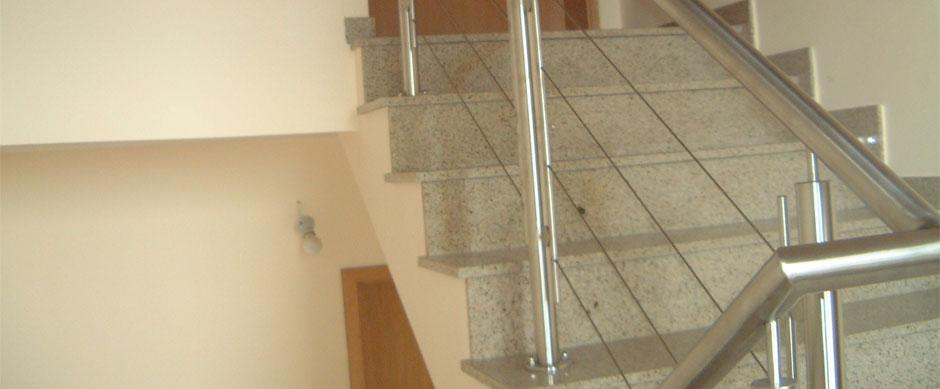 Парапети за стълбище
